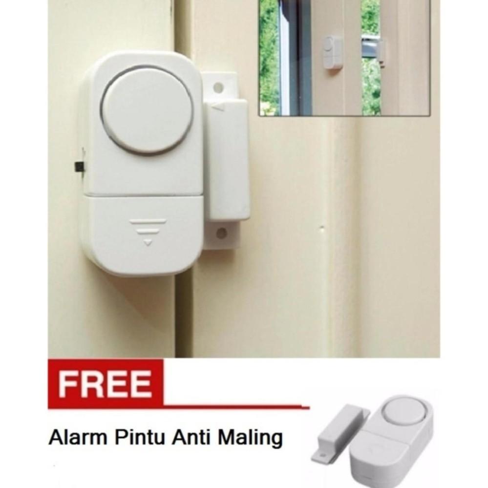 Alarm Sensor Rumah Terlengkap Network Kit 25 Pcs Dengan Id Finder Krisbow Kw0600718 Buy 1 Get Free Pintu Canggih Anti Maling 2