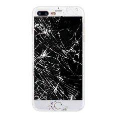 (Membeli 1 Mendapatkan 1 Gratis) Kreatif Kamuflase Cetak Silicone/TPU Shockproof Kasus Telepon Cover untuk Apple IPhone 5/5 S/SE- Layar Rusak-Intl