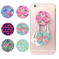 * Beli 1 Mendapatkan GRATIS 1 * Hot Sale Fashion Universal Cell Phone Airbag Pemegang Fashion Stand (Pola Acak) -Intl