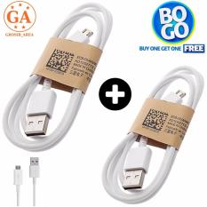 BUY ONE GET ONE / BO GO : Samsung Micro USB Charger Dan Cable Data