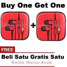 . Buy One Get One Xiaomi Piston 2 Earphone Big Bass Piston Mi 2nd Generation Handsfree/Headset - Fun Colour Random
