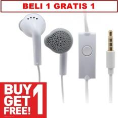 BUY1 GET 1 Samsung Handsfree Headset Headphone J1/J1ACE Original Headphones With Deep Bass And Music Equalizer - BELI 1 GRATIS 1
