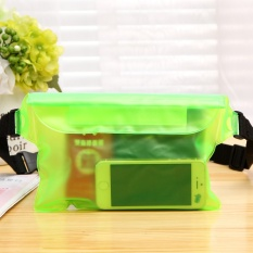 BuyBuy Shop 2 Pcs Waterproof Big Pinggang Case Adjustable Cover Universal untuk IPhone 6 6 + 5 S 5C untuk Galaxy Note2/3/4 S4 S5 S6 Underwater Sports Dry Bag Case untuk Surf Swim Berlari-Intl