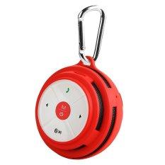 Bv200 Portable Outdoor Pocket Shockproof Micro Sd Tf Kartu Telepon Nirkabel Bluetooth Speaker Merah Not Specified Diskon 50