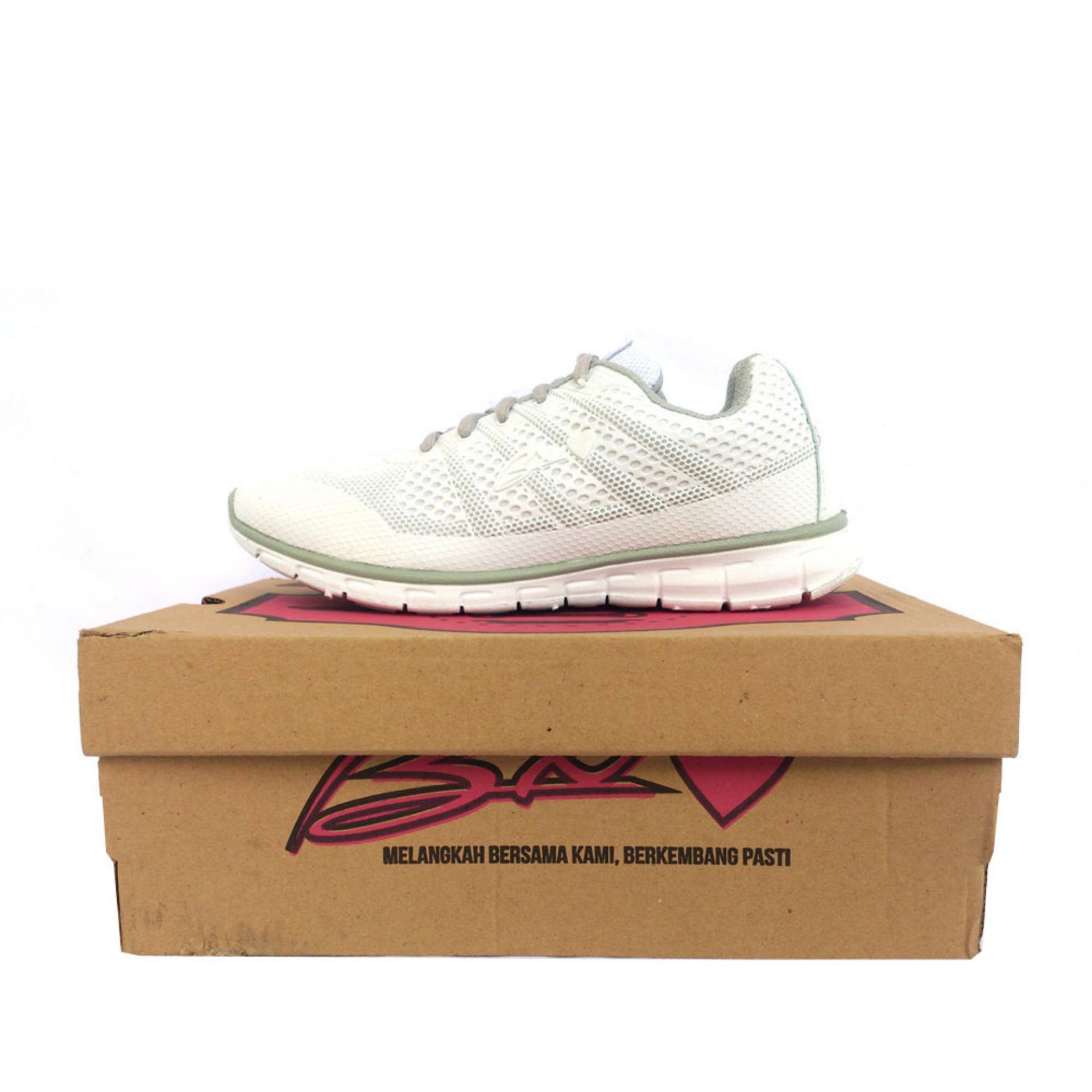 Jual Bx One Sepatu Olahraga Wanita Warna Putih Grosir