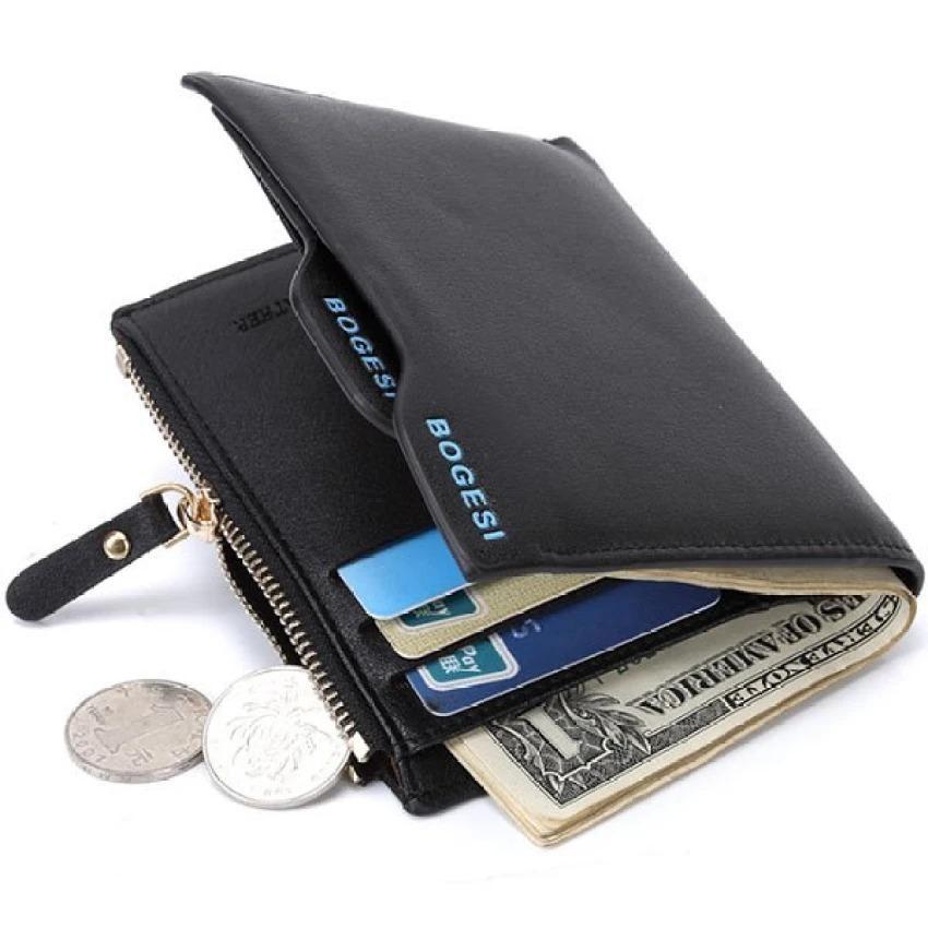 Beli Bogesi Merek Multi Fungsional Dompet Pria Kulit Bogesi 836 Dengan Kartu Kredit