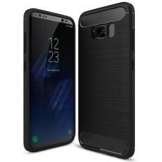 BYT Karbon Kasar Pelindung Penutup Baja untuk Samsung Galaxy S8 Plus-Intl