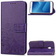 Rp 68.000. BYT Bunga Debossed Leather Flip Cover Case untuk Meizu M5 Catatan-IntlIDR68000