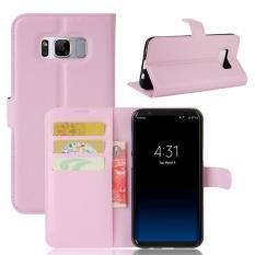 BYT Kulit Flip Penutup Case untuk Samsung Galaxy S8-Intl