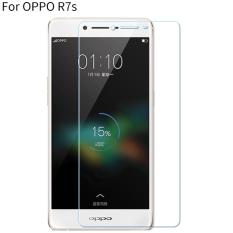 Penawaran Istimewa Byt Pelindung Layar Kaca Temper For Oppo R7S 9 Jam Kekerasan 3Mm Ketebalan Arc 2 5D Tepi 2 Buah Pack Terbaru