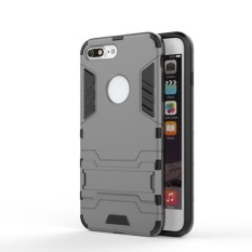 BYT TPU+PC Neo Hybrid Phone Case for Apple iPhone 7 Plus 5.5inch (Grey)