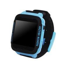 C3 Kids Anti Kehilangan Smart Watch Sos Panggilan Telepon Gps Tracker Biru Intl Asli