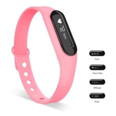 C6 Gelang Heart Rate Monitor Smart Jam Bluetooth WaterproofSports Smart Gelang untuk IOS dan Android-Intl