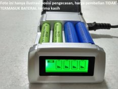 C905 Charger With Display Rechargeable 4 In 1 Cas Pengecas Baterai 4 Pcs Sekaligus AA / AAA / NI-CD / NI-MH, Charger Baterai Cas / Baterai Isi Ulang, Baterai Remote, Remote AC / TV, Baterai Mouse / Game / Games / Alarm / Jam Dinding Dll