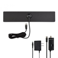 Cable Matters Ultra-Slim Amplified Indoor HDTV Antenna with Stand - intl