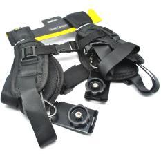 Beli Caden Quick Rapid Shoulder Neck Strap Belt For Dslr Camera Black Pakai Kartu Kredit