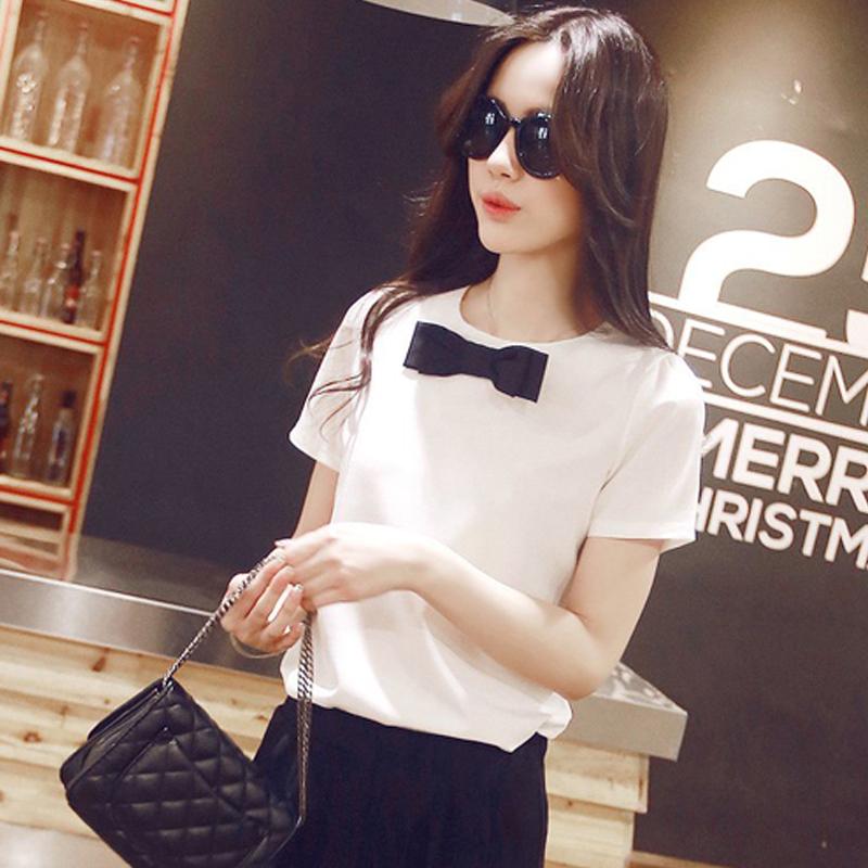Toko Caidaifei Kemeja Putih Atasan Korea Fashion Style Sifon Musim Semi Dan Musim Panas Baru Putih Baju Wanita Baju Atasan Kemeja Wanita Blouse Wanita Lengkap Di Tiongkok