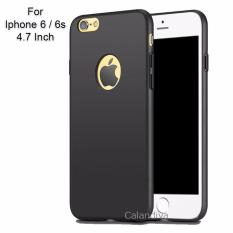Calandiva 360 Degree Protection Slim Hardcase Premium Quality Grade A for Iphone 6 / 6s 4.7 Inch - Black