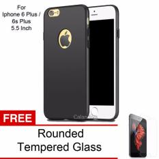 Spek Calandiva 360 Degree Protection Premium Quality Grade A Slim Hardcase For Iphone 6 Plus 6S Plus 5 5 Inch Black Rounded Tempered Glass
