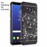 Beli Calandiva Dragon Shockproof Hybrid Case For Samsung Galaxy S8 5 8 Inch Hitam Calandiva