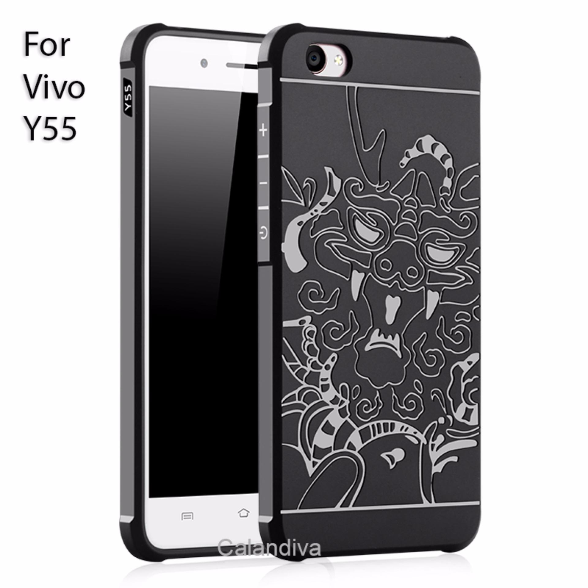 Rp 39.900. Calandiva Dragon Shockproof Hybrid Case for VIVO Y55 , Y55s ...