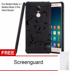 Beli Calandiva Dragon Shockproof Hybrid Case For Xiaomi Redmi Note 3 Pro Prime Versi Kenzo 5 5 Inch Hitam Gratis Screenguard Pake Kartu Kredit