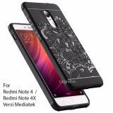 Calandiva Dragon Shockproof Hybrid Case For Xiaomi Redmi Note 4 Mediatek Redmi Note 4X Mediatek Hitam Calandiva Diskon