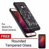 Jual Calandiva Dragon Shockproof Hybrid Case For Xiaomi Redmi Pro Dual Camera Hitam Gratis Rounded Tempered Glass Antik