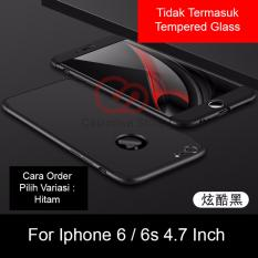 Calandiva Premium Front Back 360 Degree Full Protection Case Quality Grade A for Iphone 6, Iphone 6S 4.7 Inch (sama ukuran)