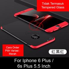 Calandiva Premium Front Back 360 Degree Full Protection Case Quality Grade A for Iphone 6 Plus, Iphone 6s Plus 5.5 Inch (sama ukuran)
