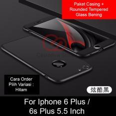 Calandiva Premium Front Back 360 Degree Full Protection Case Quality Grade A For Iphone 6 Plus Iphone 6S Plus 5 5 Inch Sama Ukuran Tempered Glass 2 5D Bening Original