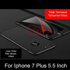 Calandiva Premium Front Back 360 Degree Full Protection Case Quality Grade A For Iphone 7 Plus 5 5 Inch Murah
