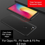 Spesifikasi Calandiva Premium Front Back 360 Degree Full Protection Case Quality Grade A For Oppo F5 F5 Youth F5 Pro 6 Inch Sama Ukuran