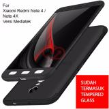 Calandiva Premium Front Back 360 Degree Full Protection Case Quality Grade A For Xiaomi Redmi Note 4 Mediatek Redmi Note 4X Mediatek 5 5 Inch Sama Ukuran Tempered Glass 2 5D Bening Jawa Barat Diskon 50
