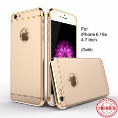Calandiva Premium Quality Elegance Protection Hardcase for Iphone 6 / 6s 4.7 Inch - Gold
