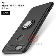 Harga Calandiva Ring Carbon Kickstand Hybrid Premium Quality Grade A Case For Xiaomi Mi A1 Mi 5X 5 5 Inch Sama Ukuran Original