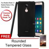 Beli Calandiva Shockproof Hybrid Premium Grade A Softcase For Xiaomi Redmi Note 3 Pro Versi Kenzo 5 5 Inch Hitam Rounded Tempered Glass Calandiva Online