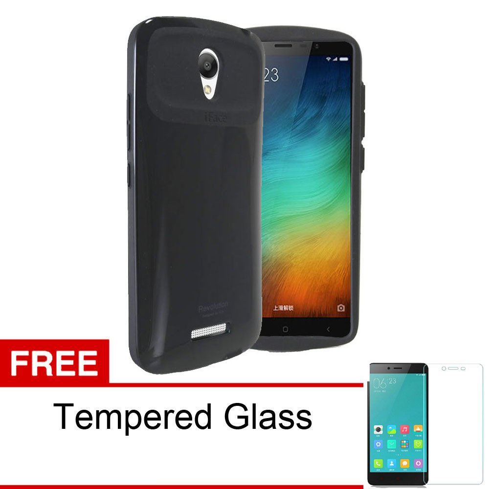 Harga Calandiva Slim Armor Revolution Case For Xiaomi Redmi Note 2 Pro Prime Hitam Rounded Tempered Glass Calandiva Online