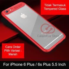 Calandiva Transparent Shockproof Hybrid Premium Quality Grade A Case for iPhone 6 Plus , iPhone 6s Plus (5.5 Inch)