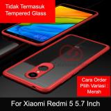 Review Pada Calandiva Transparent Shockproof Hybrid Premium Quality Grade A Case For Xiaomi Redmi 5 5 7 Inch
