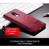 Harga Calandiva Gentleman Series Shockproof Hybrid Premium Quality Grade A Case For Xiaomi Redmi Note 4 Snapdragon Redmi Note 4X Snapdragon Paling Murah