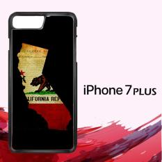California State Grunge GN0019 Custom Casing Iphone 7 Plus Case Cover