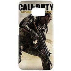 Call Of Duty: Warfare Atlas Limited Edition Game Snap On Plastik Case Cover Kompatibel dengan Samsung Galaxy S6 GS6-Intl