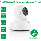 Review Terbaik Cam360 720 P Mega Piksel Pan And Kemiringan Onvif Wifi Baby Memantau Kamera Ip With Audio Masuk And Keluar And Remote Akses Aplikasi Smartphone