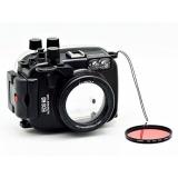 Beli Barang Camdive 40 M 130Ft Waterproof Underwater Camera Housing Case Untuk Canon Eos M3 22Mm Lensa Camdive Red Diving Filter 67Mm Intl Online