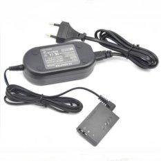 Kamera Adaptor Daya AC Penggantian ACK-E12 Charger Kit untuk CanonEOS M M2 M10 EOSM LP-E12-Intl