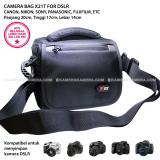Camera Bag X21T Zamrud 101 For Dslr Canon Nikon Sony Panasonic Fujifilm Etc 21St Century Diskon 30