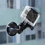 Beli Kamera Dv Holder 360 Rotating Mount Mobil Sucker Bracket Stand Untuk Gopro Hero 4 3 3 Sport Action Camera Oem Murah