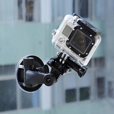 Jual Kamera Dv Holder 360 Rotating Mount Mobil Sucker Bracket Stand Untuk Gopro Hero 4 3 3 Sport Action Camera Oem Asli