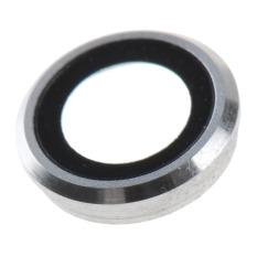 Cincin Lingkaran Pelindung Lensa Kamera + Golongan + Flash untuk IPhone 6 11.94 Cm (putih)-